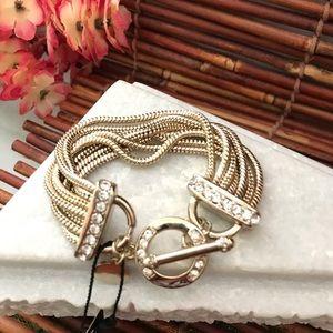 White House Black Market Toggle Bracelet NWT